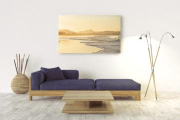 Sunset Belongil | Byron Bay - Acrylic Wall Mount