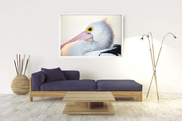 Pelican | Byron Bay - Box Frame White No Border