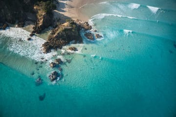 The Pass Blue | Byron Bay