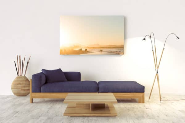 Sunset At Belongil Beach | Byron Bay - Acrylic Wall Mount