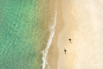 Surfers Shadows | Byron Bay